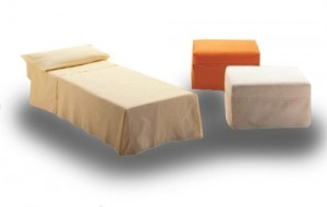 pouf letto